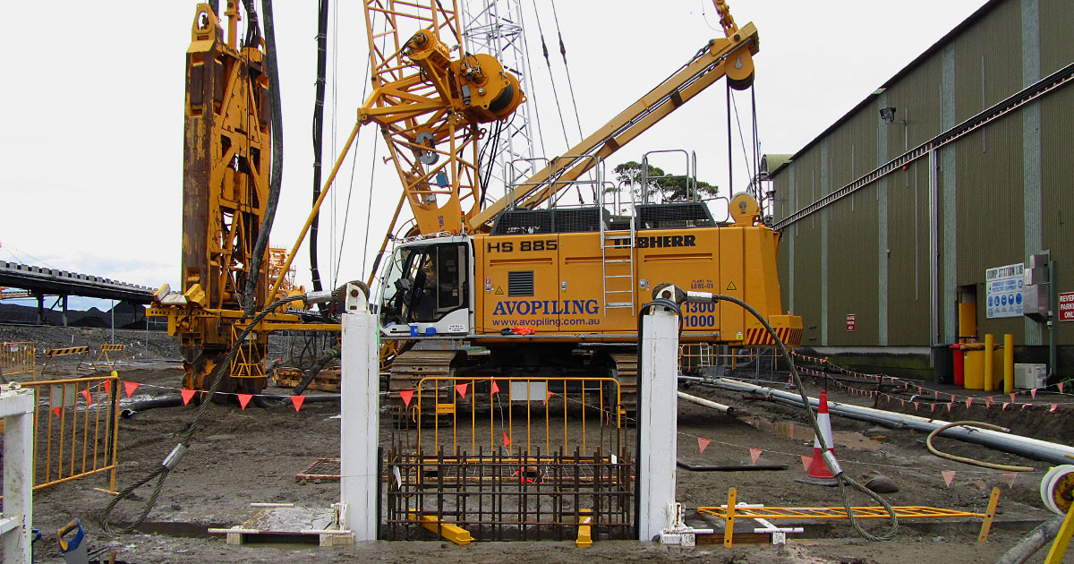 Kooragang Expansion Project - KEXP 4, Kooragang Island, NSW.