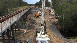 Timber Bridge Replacement - North Coast Line - between Childers and Gladstone